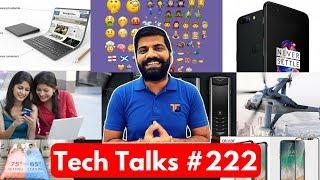 Tech Talks #222 Oneplus 5 Sales, iPhone 8 Confirm, Smart Bedding, Celebrating Yoga, Bitcoin Emoji