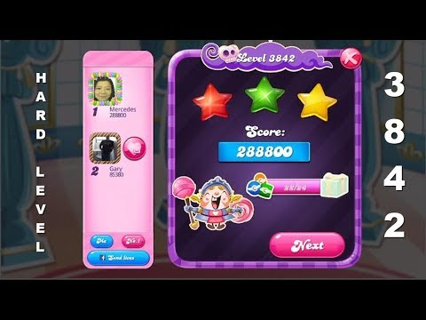 Candy Crush Saga 3842   |  BETTER ODDS OF WINNING 5 & 15-EXTRA MOVES IN FREE SPIN