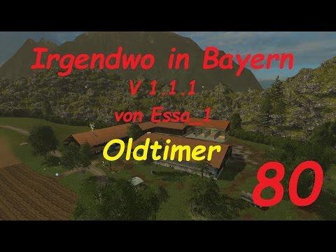 LS 15 Irgendwo in Bayern Map Oldtimer #80 [german/deutsch]