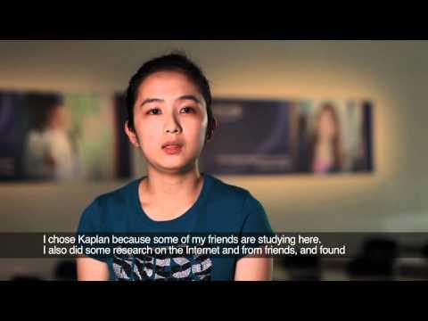 International Scholarship Students Testimonial