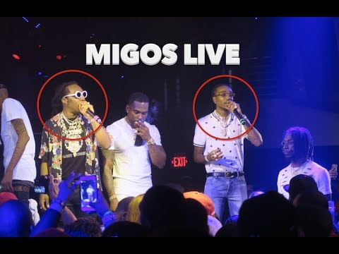 Migos Performing Live At Story Nightclub Memorial Weekend 2017 Miami South Beach