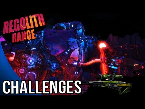 Borderlands The Pre Sequel - Regolith Range Challenges - Cult of Vault ...