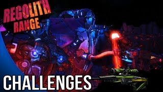 Borderlands The Pre Sequel - Regolith Range Challenges - Cult of the Vault , ECHOES, Deadlift