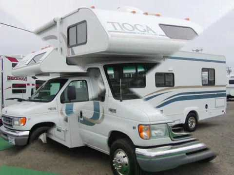 Used class c motorhome tioga for sale in arizona youtube for Used class c motor home