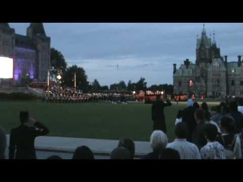 Fortissimo 2009 - God Save The Queen and O Canada