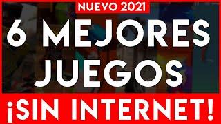 6 MEJORES JUEGOS ANDROID ¡OFFLINE & ONLINE! | Juegos ADICTIVOS ¡SIN CONEXIÓN INTERNET! ANDROID 2019
