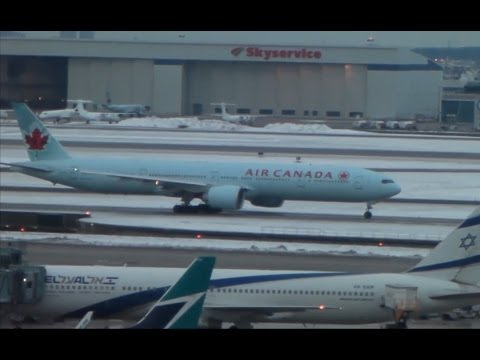 Terminal 3 Operations - View from Sheraton Hotel in Toronto (YYZ) Part 2