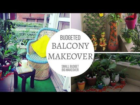 Small Budget Big Makeover | Balcony Makeover | Indian Home Balcony