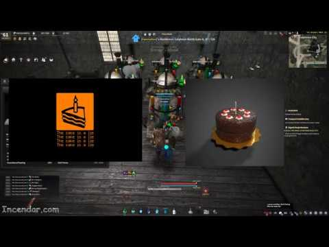 THE CAKE IS A LIE! BDO 3rd Anniversary cake NO XP  boost multiple tests Black Desert Online 1440p 2k