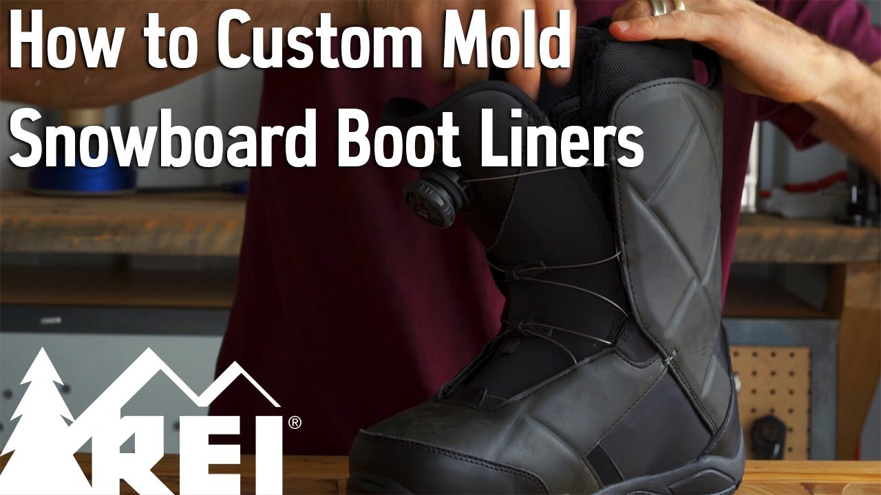 Snowboarding How To Custom Mold Snowboard Boot Liners