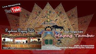 Live Wayang Kulit Karya Budaya Di Desa Sukagumiwang Indramayu Bagian Malam