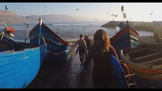 Morocco surftrip - everybody happy in Morocco