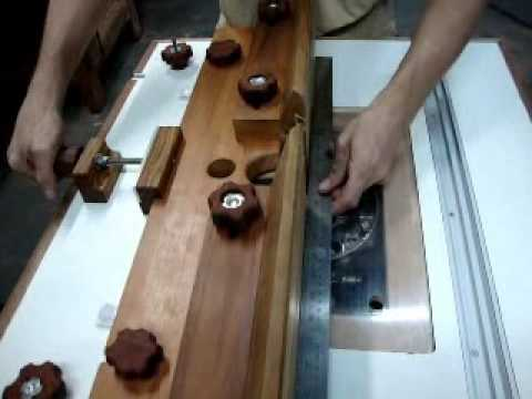 Batente de tupia em madeira  YouTube