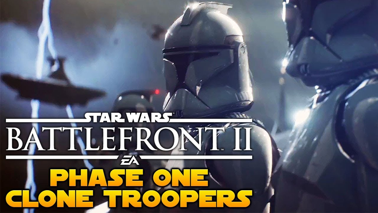 star wars battlefront 2 phase one clone troopers youtube