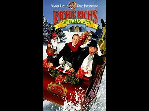 Richie Richs Christmas Wish.Opening To Richie Rich S Christmas Wish 1998 Vhs Hq
