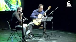 Satie: Gnossiennes 1, 2, and 3 (guitar duo)