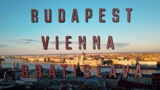 Budapest, Bratislava, & Vienna Travel Vlog