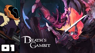 Let's Play Death's Gambit - PC Gameplay Part 1 - Shards & Scythings!