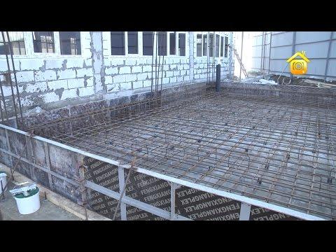 Как заливать бетон при минусовой температуре
