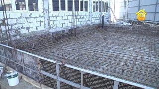 видео Производство бетонных и железобетонных работ при отрицательных температурах