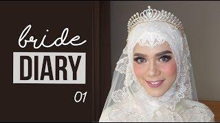 Video #BrideDiary Ep.01 | Tutorial Hijab Pengantin Koreksi Mata Belo - Protruding Eye | Puji Antari Makeup download MP3, 3GP, MP4, WEBM, AVI, FLV Oktober 2017