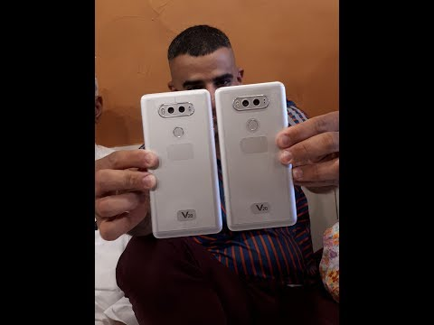 LG V20 US996 Unboxing with Accessories in Dubai