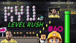 I HEART RYUKAHR (KAIZO SPEED RUN!) | Super Mario Maker | Level Reaction Ep. 60