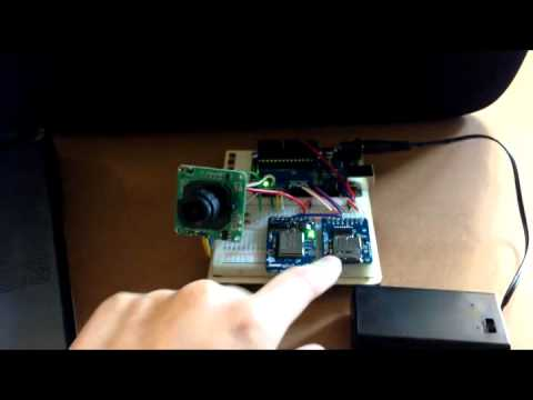 Arduino driven time lapse camera prototype milestone #1, Motion detection photo capture, SD card
