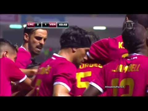 Venezuela Vs. Costa Rica Amistoso 28/05/2016 Gol anulado para Vinotinto