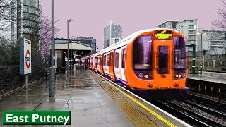 East Putney | District line : London Underground ( S7 Stock )