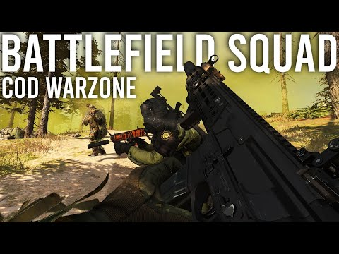Call Of Duty Warzone With Battlefield Squad!