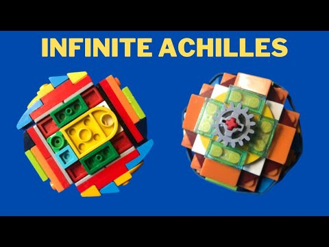 How to make a lego Infinite Achilles Beyblade