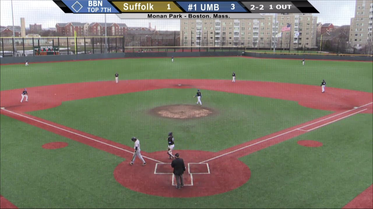 1 Umass Boston Baseball Highlights Vs Suffolk Game 1 3 24 18 Youtube