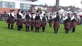 Police Service of Northern Ireland Pipe Band Enniskillen 2014