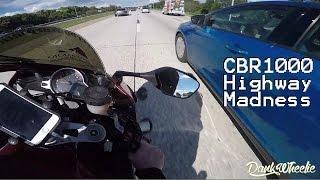 Intense CBR1000 Highway Speeding