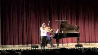 Esra Pehlivanli & Anastasia Safonova / J. Brahms Sonata op.120 no.2 (excerpts)