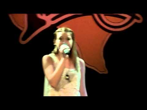 Carson Dae singing Blown Away by Carrie Underwood