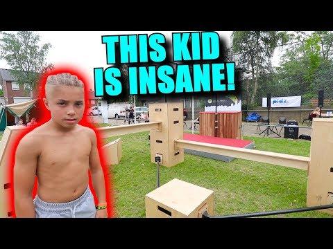 8 YEAR OLD KIDS DO INSANE FREERUNNING!