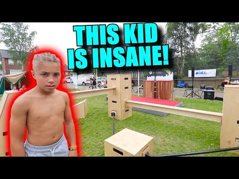 8 YEAR OLD KIDS DO INSANE FREERUNNING!