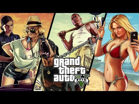 Grand Theft Auto V online. Прямой эфир