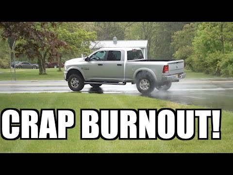 THIS JOB ON THE 1ST GEN CUMMINS SUCKED!!! RYAN SPENDS TOO MUCH MONEY AND DOES A BURNOUT!!