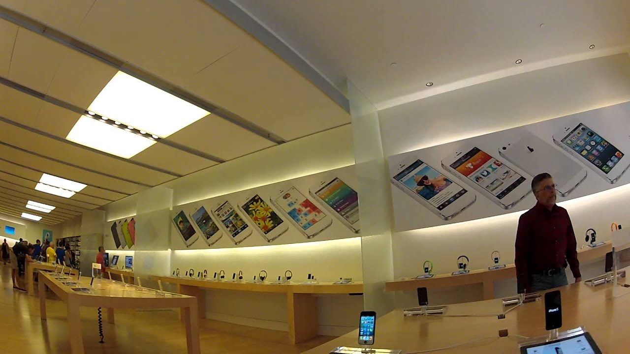 Apple Store Tampa - YouTube