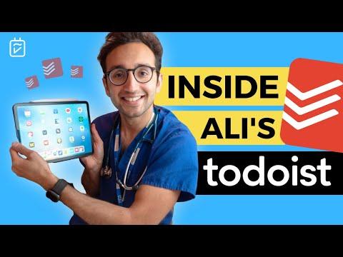 "@Ali Abdaal's Todoist & ""Dash+"" Productivity System"