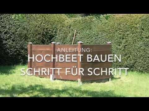 Hochbeet Selber Bauen Youtube