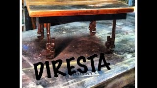🔨 Diresta Matt Makes A Old Tool Legged Table