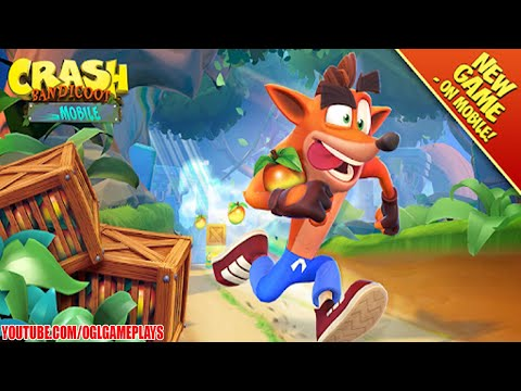 Crash Bandicoot Mobile (By King) Gameplay Part 1