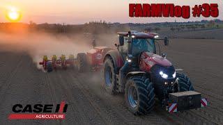 FARMVlog #35 - Sejeme kukuřici s Case IH Optum 270 CVX + Väderstad Tempo l 12