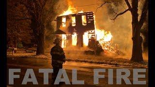 EARLY VIDEO: House fire in Lehigh Township, Northampton County, Pennsylvania