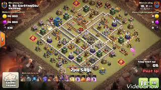 Lavalon Lv Max 3 Star Any TH12 War bases | Clash Of Clans War