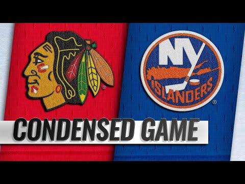 01/03/19 Condensed Game: Blackhawks @ Islanders